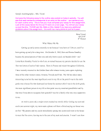 my autobiography essay examples academic writing com how do you  autobiographical essay exampleautobiography essay example 88285png personal my autobiography essay examples