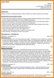 Resume For Maintenance WorkerGeneralMaintenanceWorkerResume Awesome Resume For Maintenance Worker