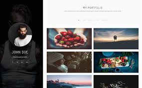 Photography Websites Templates John Doe Photography HTML Website Template 24 16
