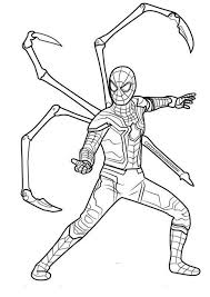 Try these free iron man mask coloring pages. Iron Spider In Infinity War Coloring Page Free Printable Coloring Pages For Kids