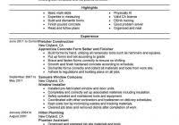Hvac Technician Resume Pdf | Fred Resumes