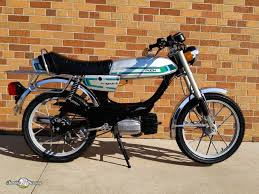 sunday morning motors beautiful vintage european pedal mopeds 1980 puch magnum ii 1