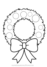 Small Picture Holly Wreath Coloring Page GetColoringPagescom