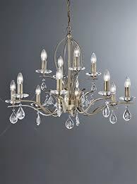 franklite fl2299 12 willow 12 light bronze and crystal chandelier