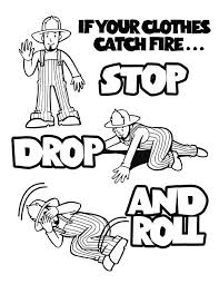 Small Picture Fire Safety Coloring Book Printable Coloring Coloring Pages