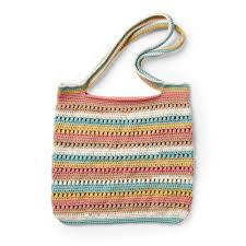 Yarnspirations Patterns Delectable Caron Crochet Textured Tote Pattern Yarnspirations