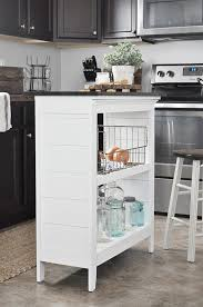 diy bookcase kitchen island. DIY Bookshelf Kitchen Island Via Little Glass Jar Diy Bookcase C