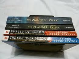 Details About Four 4 Arturo Perez Reverte Paperbacks The Nautical Chart The Sun Over