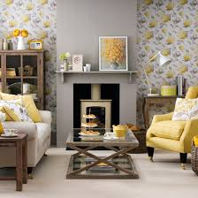yellow and grey living room ideas drawing furniture67 room