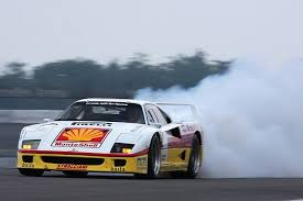 Without a custom transmission, remember the car has a manual transmission… you'll need to lift when shifting and be very careful shifting mid corner! Racing F40 I Always Seemed To Like The Paint Scheme Ferrari F40 Ferrari Racing Ferrari