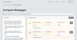 Compare Mortgages Nvestalabs Com