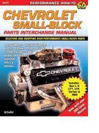 small block chevrolet engine blocks chevrolet small block parts interchange manual