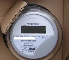 electric meter itron watthour meter kwh c1sr centron 240 volts fm2s