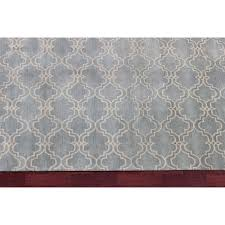 scroll rug rugsville scroll tile porcelain blue wool rug 12161 8x10 diamond scroll rug