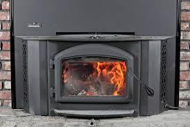 image of gas log fireplace insert