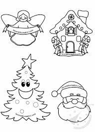 Disegni Di Natale Da Colorare E Ritagliare Lavoretti Creativi