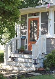 oh my gosh i may paint the front door orange, why not?! i am ...