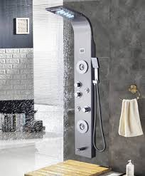 ello allo stainless steel shower panel tower system