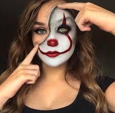 it clown makeup idea for
