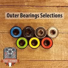 bearings for fidget spinner. edc spiral tri fidget spinner; center bearing selections; outer ball selection bearings for spinner