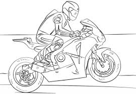 Small Picture Racing Motorcycle coloring page Free Printable Coloring Pages
