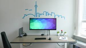 diy dream desk setup 2 0 minimal ergonomic clean