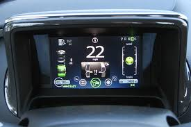 2013 chevrolet volt review great daily commuter car but sticker 2013 chevrolet volt insrument panel