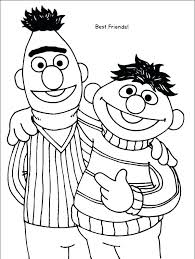 Sesame Street Characters Coloring Pages Baby Sesame Street Coloring