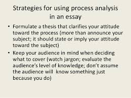 process analysis essay  directional or informational 3 strategies for using process analysis in an essay