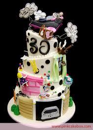 Suprise 30th Birthday Cake
