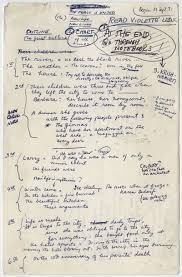 famous authors handwritten outlines for great works of literature  tumblr mc6fddvd4q1qced37o1 1280