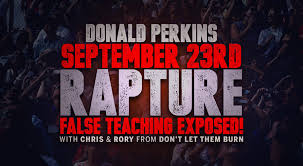 Image result for false rapture date setters