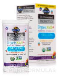 dr formulated probiotics organic kids 5 billion cfu berry cherry flavor shelf stable 30 chewables