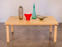 Birch Coffee Table Alvar Aalto Coffee Table Oam