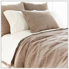 brown linen duvet cover sweetgalas
