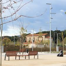 contemporary public space furniture design bd love. Public Bench / Contemporary Solid Wood Steel - BILATERAL By Julià Espinàs \u0026 Olga Tarrasó Space Furniture Design Bd Love E