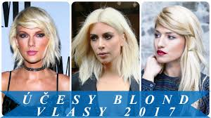 účesy Blond Vlasy 2017