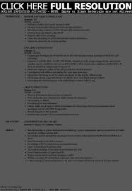 Sap Support Resume Resume Template