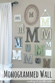 monogram wall decor metal bright and modern monogram wall decor home decoration ideas initials letters hanging monogram wall decor