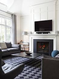 home living fireplaces. example of a mid-sized transitional formal and enclosed dark wood floor living room design home fireplaces