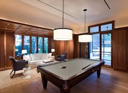 pool room lighting. Contemporary Pool Table Light Dark Wood Room Lighting
