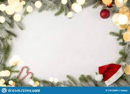 Mistletoe Ball Lights Christmas Photo Frame Stock Photo Image Of Frame Space