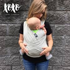 xoxo furniture. xoxo furniture buckle wrap baby carrier repreve grayscale