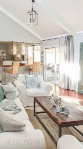 Light Colored Living Rooms Light Bright Airy Living Room Tour Designing Vibes The