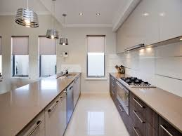 lighting for galley kitchen. kitcheninteresting white galley kitchen design featuring industrial ceiling lights designs pictures cottage lighting for