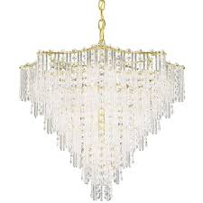 schonbek lighting schonbek multi tier 11 light crystal chandelier in satin silver j
