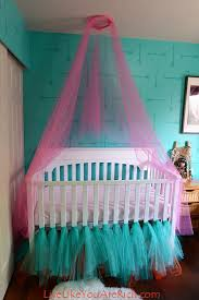 how to make a crib canopy out of tulle, bedroom ideas, how to,