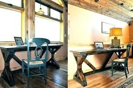 rustic office design. Rustic Office Decor Home Vintage Skillful Design D