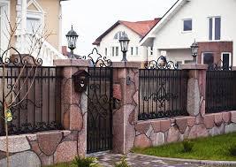 Забор для частного дома: виды, материалы, достоинства и недостатки