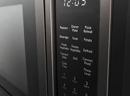 kitchenaid 21 3 4 countertop convection microwave oven with printshield finish 1000 watt